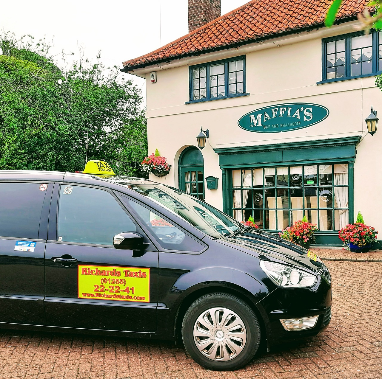 Richards Taxis At Mafias Restaurant Holland on Sea